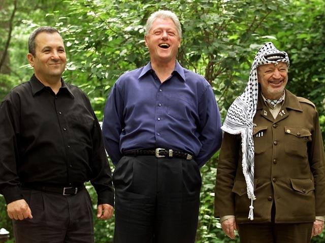Bill Clinton, Ehud Barak, Arafa, Camp David