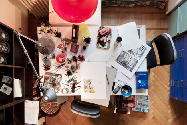 Il tavolo di Gabriella Giandelli