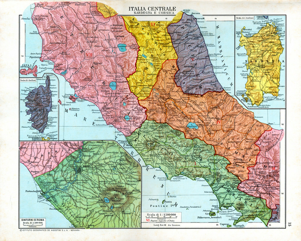 Regioni Cartina Italia Centrale.Atlante Storico Dell Italia Doppiozero