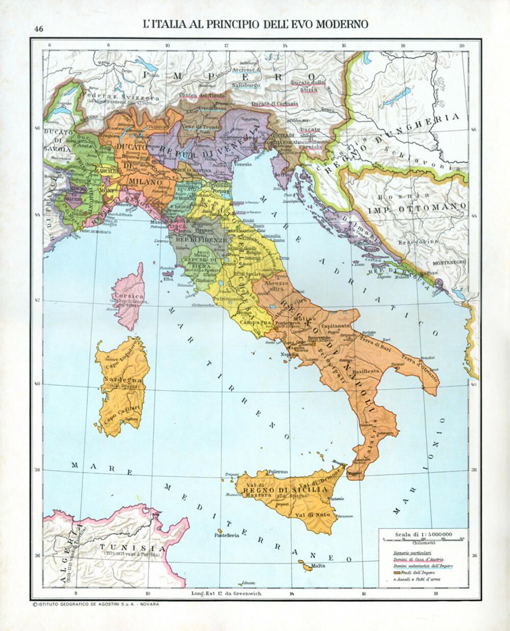 Cartina Dell Italia Con Tutte Le Regioni.Atlante Storico Dell Italia Doppiozero