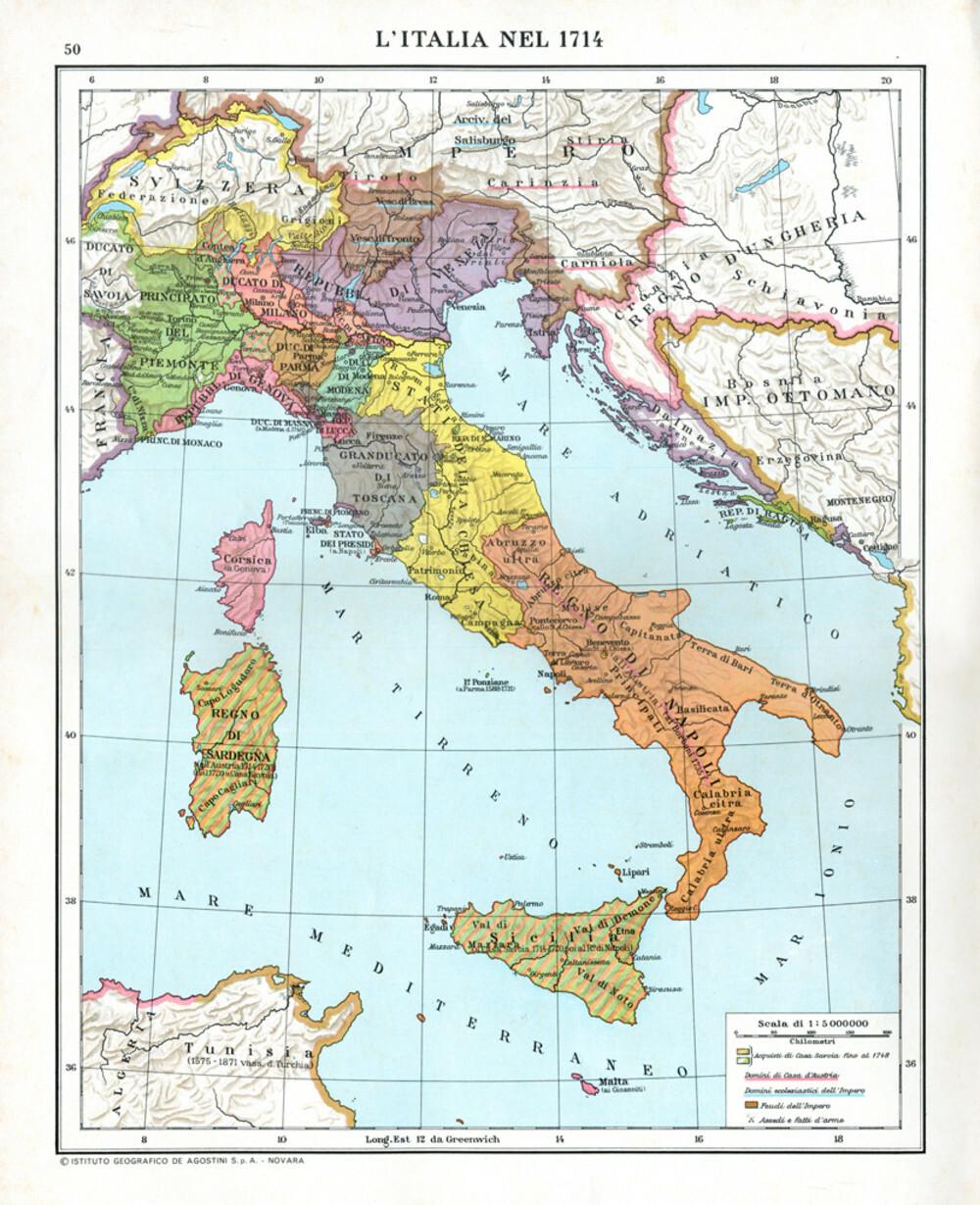 Cartina Italia Solo Confini.Atlante Storico Dell Italia Doppiozero