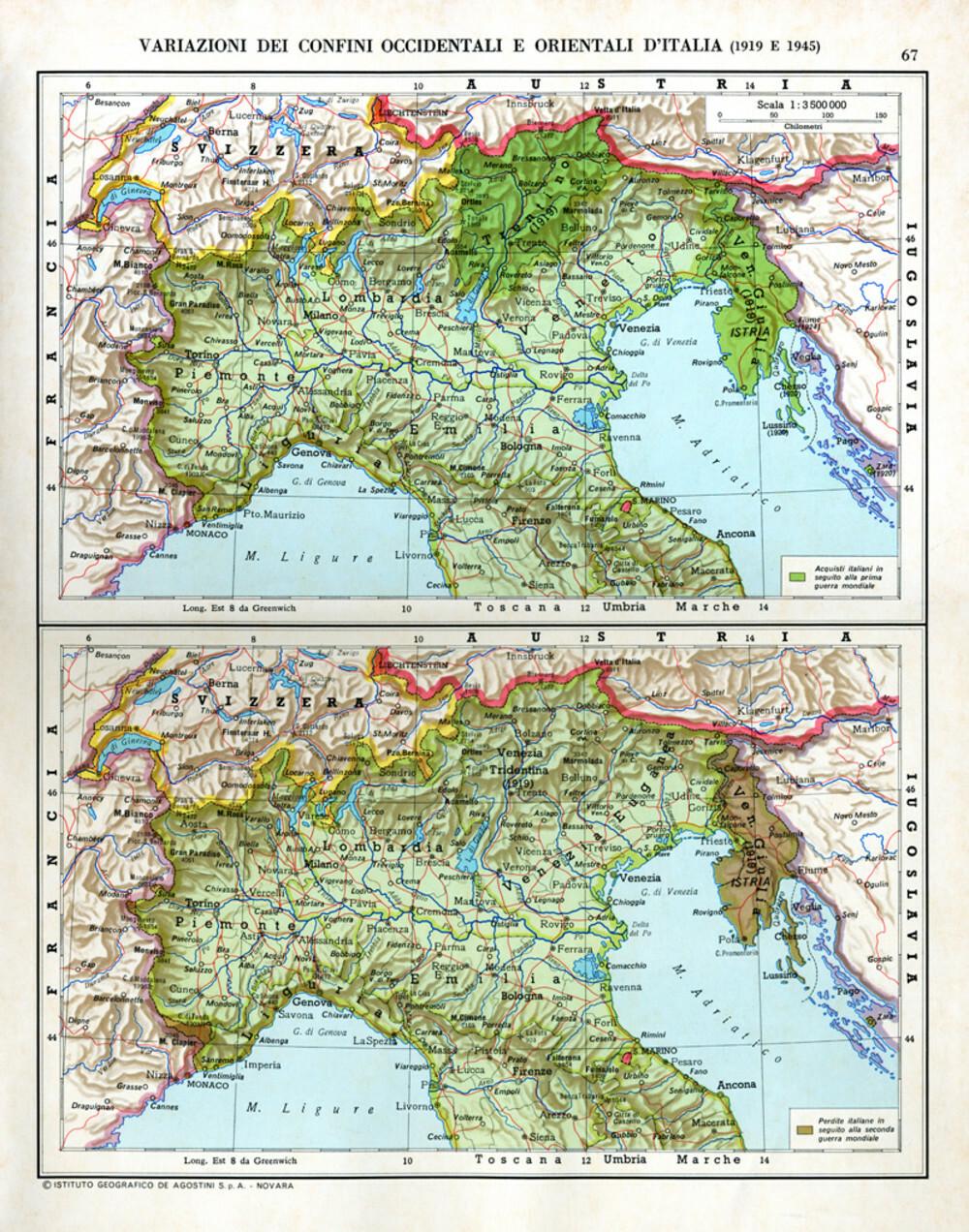 Cartina D Italia 1915.Atlante Storico Dell Italia Doppiozero