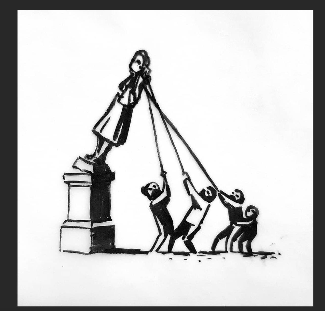 Altre statue cadranno (perdonate il disordine)