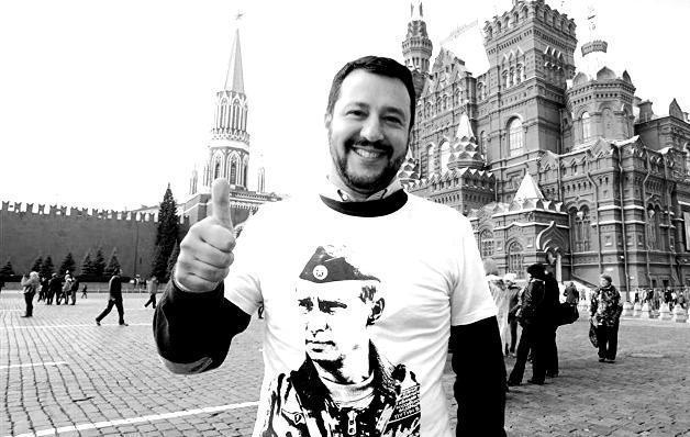 Risultati immagini per imparare a vivere in un regime autoritario, da Putin a Salvini