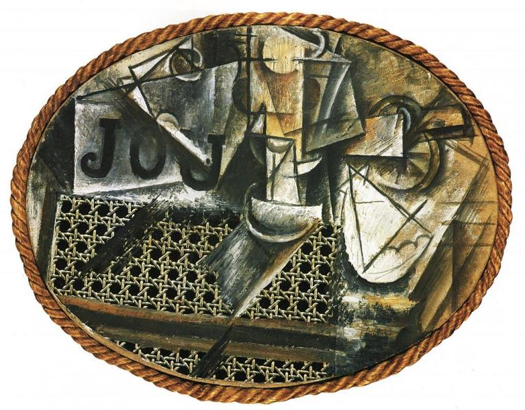 Picasso e il suo demone doppiozero - Picasso nature morte a la chaise cannee ...