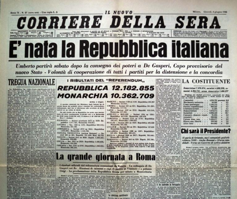 Un nuovo ruolo per gli stati doppiozero for Repubblica parlamentare italiana