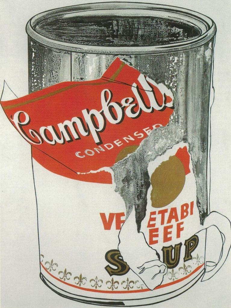 andy warhol campbell's soup - 736×985