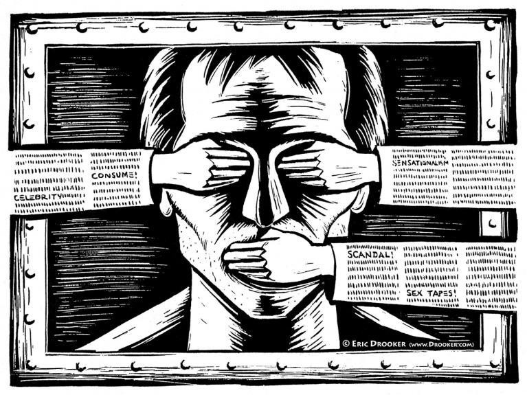 la censura nella storia