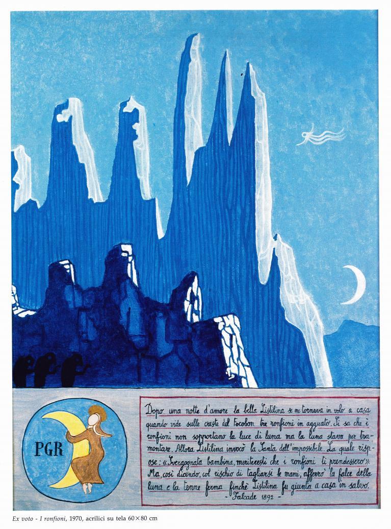 Le Dolomiti Di Dino Buzzati Doppiozero